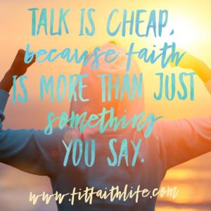 Faith is More